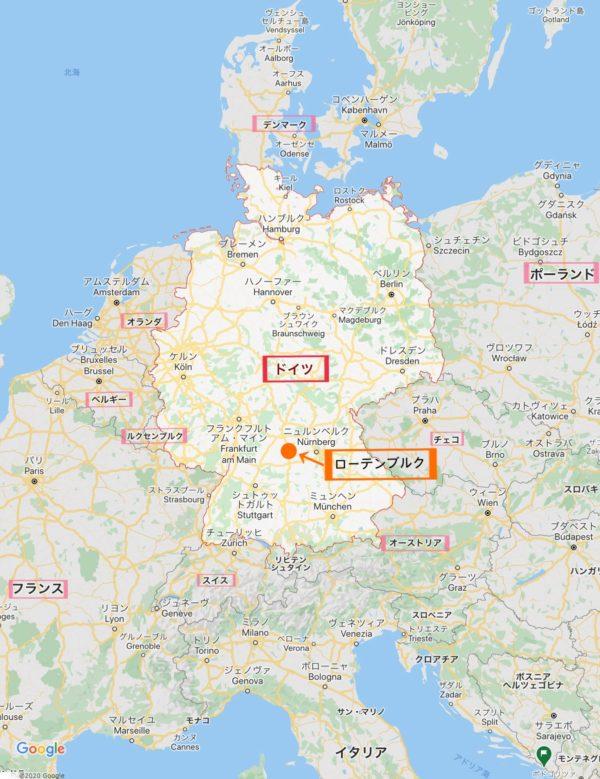 グーグルマップ ドイツ