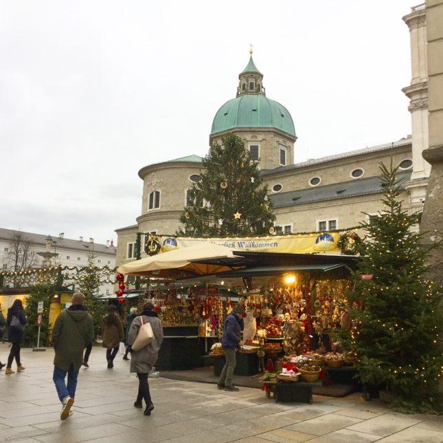 ザルツブルクのクリスマス市」